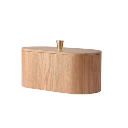 HKliving Willow Wooden Storage Box opberger