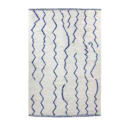 HKliving Woolen Berber vloerkleed 180x280 cobalt