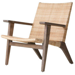 HKliving Woven fauteuil