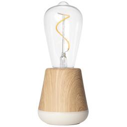 Humble One tafellamp oplaadbaar eiken