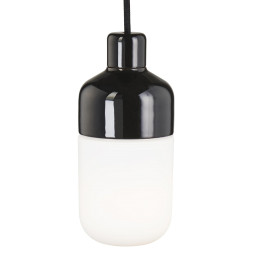 Ifö Electric Ohm hanglamp 100/215 IP44 outdoor opaal met stekker