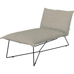 Jess Earl lounge outdoor met zwart onderstel