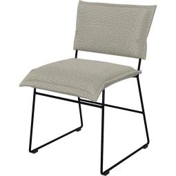 Jess Norman stoel outdoor met zwart onderstel