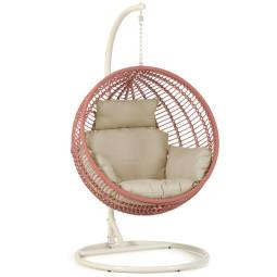 Kave Home Elianis stoel hangend inclusief base