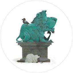 KEK Amsterdam Statue behangcirkel