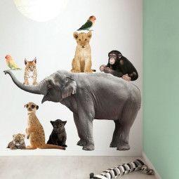 KEK Amsterdam Safari Friends Set Elephant XL muursticker