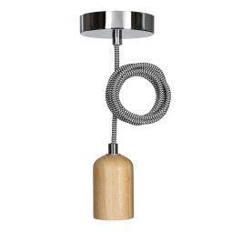 Livingstone Design Fairlie hanglamp E27 hout