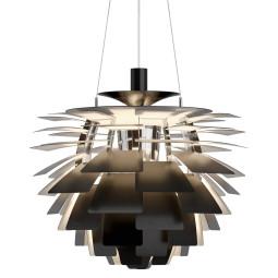 Louis Poulsen PH Artichoke 60 hanglamp zwart LED