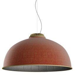 Luceplan Farel hanglamp akoestisch LED messing