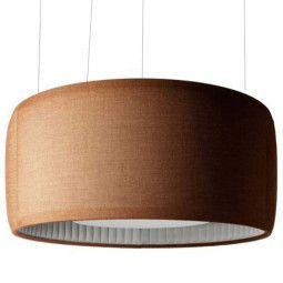 Luceplan Silenzio akoestische hanglamp 90cm LED 3000K
