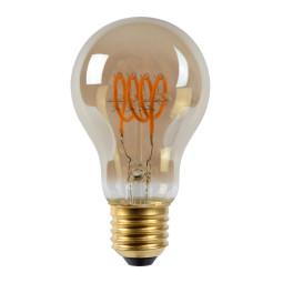 Lucide A60 LED lichtbron E27 5W 2200K fumé dimbaar