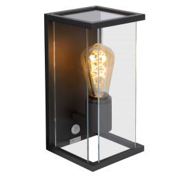 Lucide Claire wandlamp IP54 met bewegingssensor