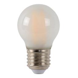 Lucide G45 LED lichtbron E27 4W 2700K mat dimbaar