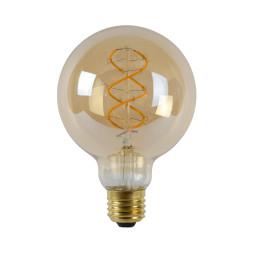 Lucide G95 LED lichtbron E27 5W 2200K amber dimbaar