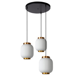 Lucide Gosse hanglamp set rond