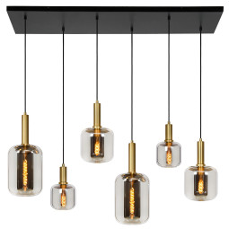 Lucide Joanet hanglamp set lineair