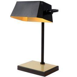 Lucide Lance bureaulamp zwart