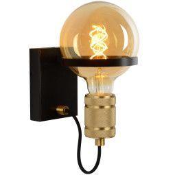 Lucide Ottelien wandlamp zwart