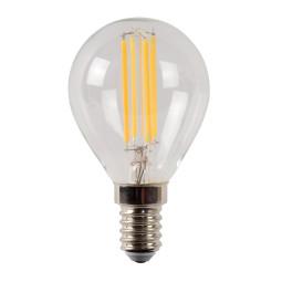 Lucide P45 LED lichtbron E14 4W 2700K transparant dimbaar