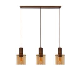 Lucide Tweedekansje - Toledo hanglamp 3 linear