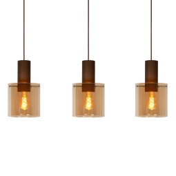 Lucide Toledo hanglamp 3 linear