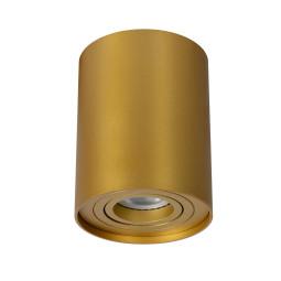 Lucide Tube opbouwspot rond mat goud