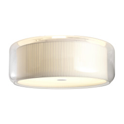 Marset Mercer C Plafondlamp Natural Cotton