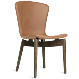 Mater Design Shell Chair stoel grijs eiken onderstel