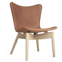 Mater Design Shell fauteuil mat gelakt eiken onderstel