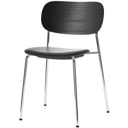 Menu Co Chair stoel chroom gestoffeerd