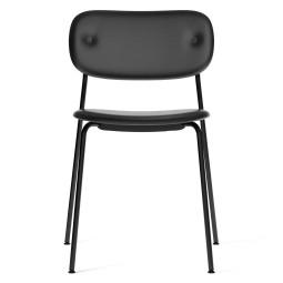 Menu Co Chair stoel gestoffeerd zwart onderstel