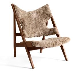 Menu Knitting Lounge Chair fauteuil