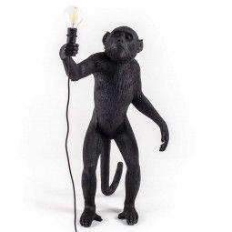 Seletti Tweedekansje - Monkey Standing vloerlamp