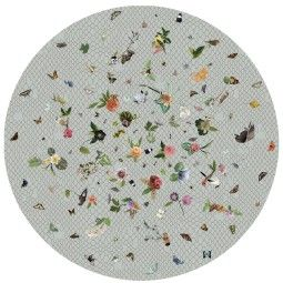 Moooi Carpets Garden of Eden Round Netting vloerkleed 350
