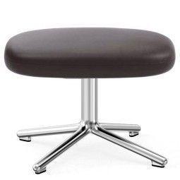 Normann Copenhagen Era Footstool Swivel voetenbank met aluminium onderstel