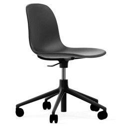 Normann Copenhagen Form Chair bureaustoel met zwart onderstel