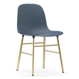 Normann Copenhagen Form Chair stoel met messing onderstel