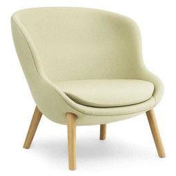 Normann Copenhagen Hyg Low Oak fauteuil