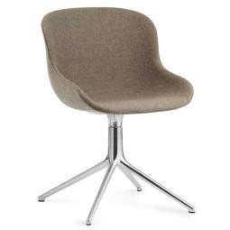 Normann Copenhagen Hyg stoel full upholstery met swivel onderstel