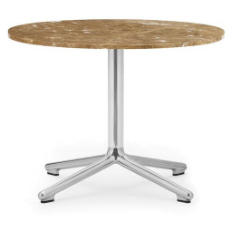 Normann Copenhagen Lunar salontafel 60 aluminium onderstel