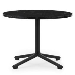 Normann Copenhagen Lunar salontafel 60 zwart onderstel