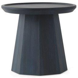 Normann Copenhagen Tweedekansje - Pine bijzettafel 45 donkerblauw