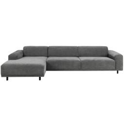 Nuuck Bold 3 sofa met chaise longue links
