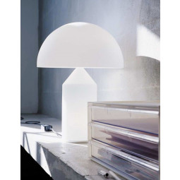 Oluce Tweedekansje - Atollo 50 Glass tafellamp