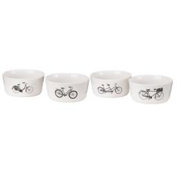 Pols Potten Bikes Snack schaal set van 4