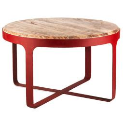 Pols Potten Stoner salontafel rood