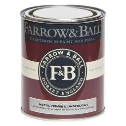 Farrow & Ball Primer en Undercoat 750ml metaal binnen en buiten, rode en warme tinten