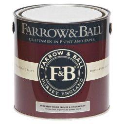 Farrow & Ball Primer en Undercoat hout binnen, donkere tinten