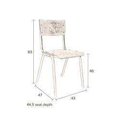 Dutchbone Tweedekansje - Scuola stoel
