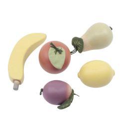 Sebra Houten Fruit voor Speelkeuken